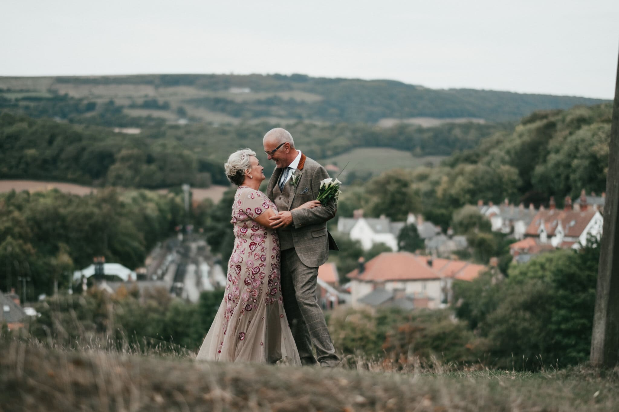 Tracy and Mike | North Yorkshire Moors Railway Wedding