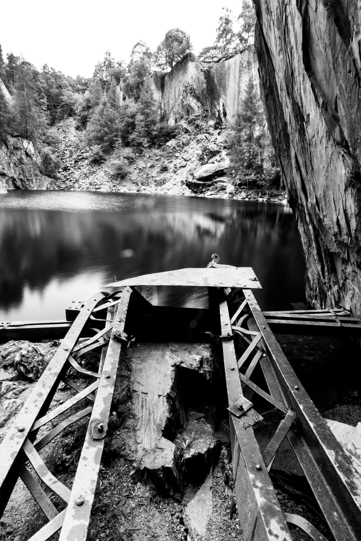 Old Slate Mine | 13mm | F22 | 6sec | iso100 | polarising filter